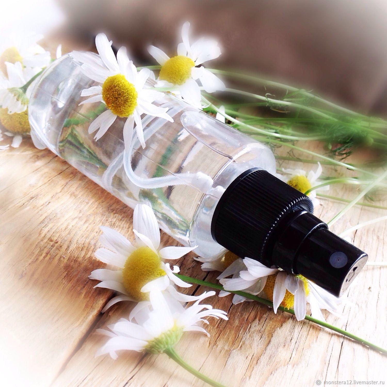 Гидролат ромашки лекарственной,100% натуральный тоник,ручная работа, Тоники, Обнинск,  Фото №1