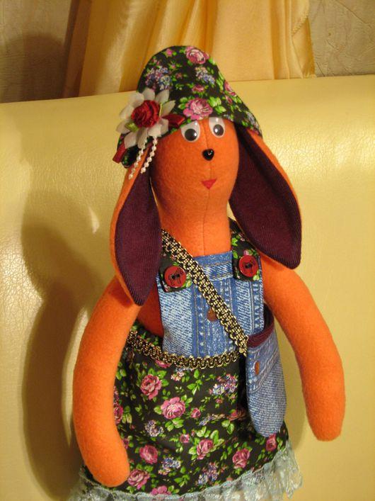 Куклы Тильды ручной работы. Ярмарка Мастеров - ручная работа. Купить ЗАЙКА В СТИЛЕ ТИЛЬДА ( ручная работа ). Handmade.