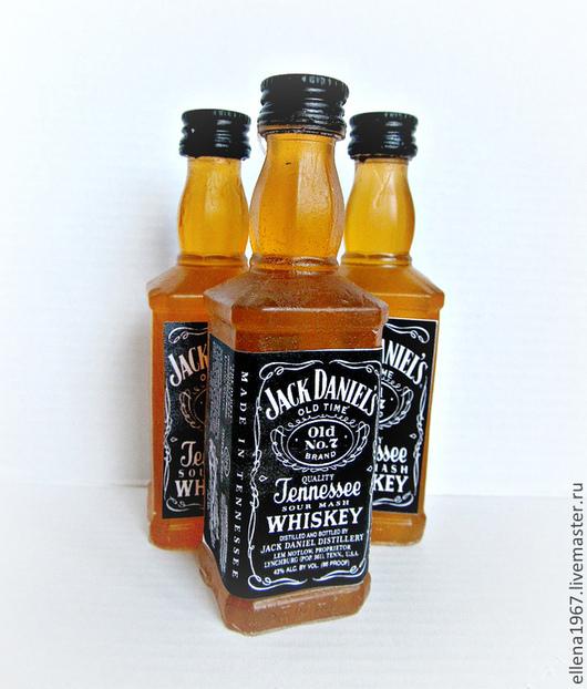 Мыло ручной работы. Ярмарка Мастеров - ручная работа. Купить Мыло Виски Джек Дэниэлс. Handmade. Мыло, мыло сувенирное