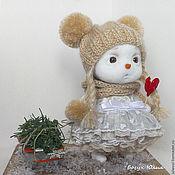 handmade. Livemaster - original item Snegovichok interior toy. A gift for the New year.. Handmade.