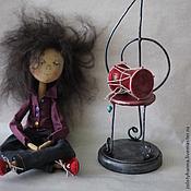 Куклы и игрушки ручной работы. Ярмарка Мастеров - ручная работа Музыкант. Handmade.