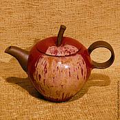 """Посуда ручной работы. Ярмарка Мастеров - ручная работа чайник """"вкус яблока"""". Handmade."""