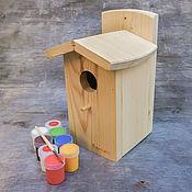 Для дома и интерьера handmade. Livemaster - original item Set for painting a birdhouse