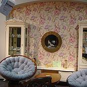 Для дома и интерьера ручной работы. Ярмарка Мастеров - ручная работа Зеркало в мозаичной раме, золотое. Handmade.