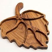 Посуда handmade. Livemaster - original item Wooden tray, dish. Menazhnitsa of wood. Handmade.