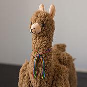 Куклы и игрушки handmade. Livemaster - original item Soft toy Alpaca Lama handmade. Handmade.