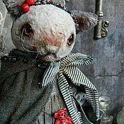 Куклы и игрушки ручной работы. Ярмарка Мастеров - ручная работа Кошка Матильда Блэк. Handmade.