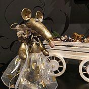 Куклы и пупсы ручной работы. Ярмарка Мастеров - ручная работа Золотая крыска. Handmade.