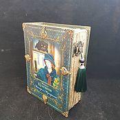 Для дома и интерьера handmade. Livemaster - original item Box-book ,,Master and Margarita,. Handmade.