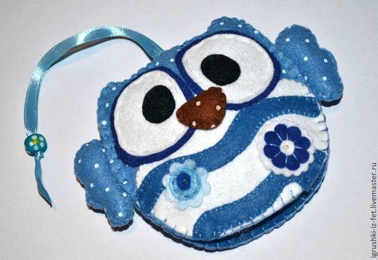 Ключницы ручной работы. Ярмарка Мастеров - ручная работа. Купить Ключница Сова. Handmade. Из фетра, сувениры и подарки