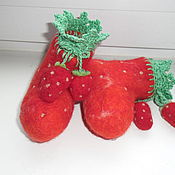 Работы для детей, ручной работы. Ярмарка Мастеров - ручная работа Войлочные пинетки. Handmade.