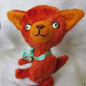 Куклы и игрушки ручной работы. Ярмарка Мастеров - ручная работа Лисенок тедди Эрл. Handmade.