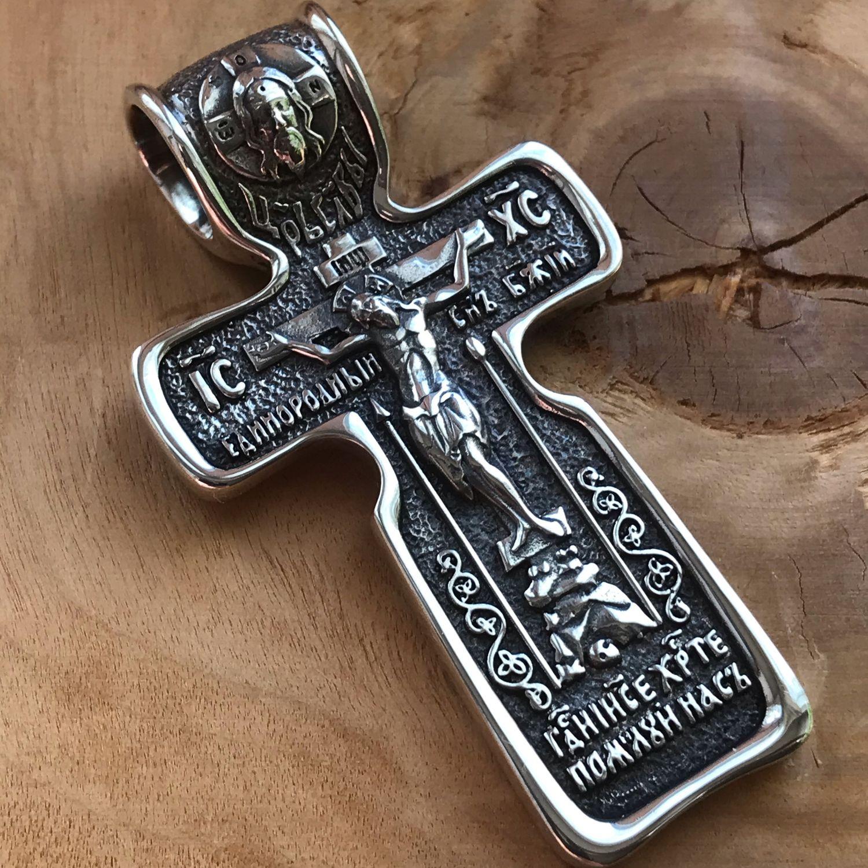 Серебряный крест, Крестик, Кострома,  Фото №1