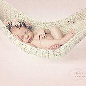 Для дома и интерьера ручной работы. Ярмарка Мастеров - ручная работа Гамак для фотосессии младенцев. Handmade.