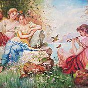 Картины и панно handmade. Livemaster - original item Heavenly Rhapsody. Oil painting. Handmade.