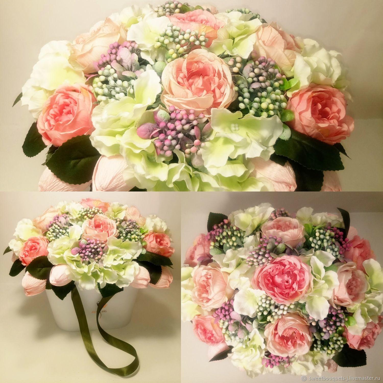 Цветочно-конфетная композиция №20