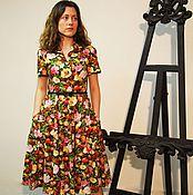 Одежда handmade. Livemaster - original item Retro dress in the style of 50`s