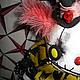 Коллекционные куклы ручной работы. Клоун  ХоХОтун. Алёна Жиренкина (alenazhirenkina). Ярмарка Мастеров. Фрик, Алёна Жиренкина, плюш винтажный