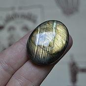 Материалы для творчества handmade. Livemaster - original item Labradorite. Cabochon 37 X 27 X 8. Handmade.
