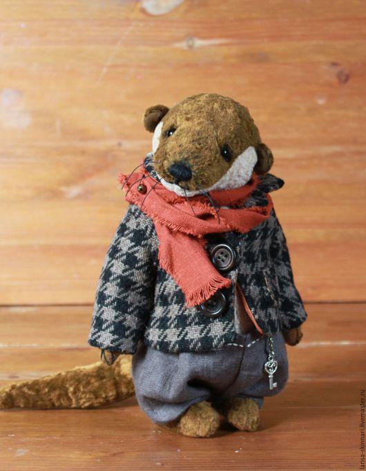Мишки Тедди ручной работы. Ярмарка Мастеров - ручная работа. Купить Выдр Гарри. Handmade. Коричневый, авторская ручная работа