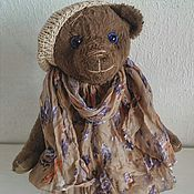 """Куклы и игрушки ручной работы. Ярмарка Мастеров - ручная работа Тедди мишка """"В стиле Бохо..."""". Handmade."""