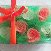 Косметика ручной работы. Ярмарка Мастеров - ручная работа Набор из бутонов роз для гостевого мыла. Handmade.