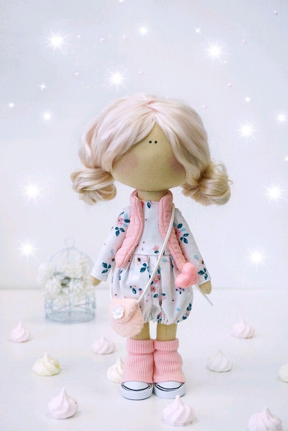 Interior textile doll Marshmallow, Dolls, Vladivostok,  Фото №1