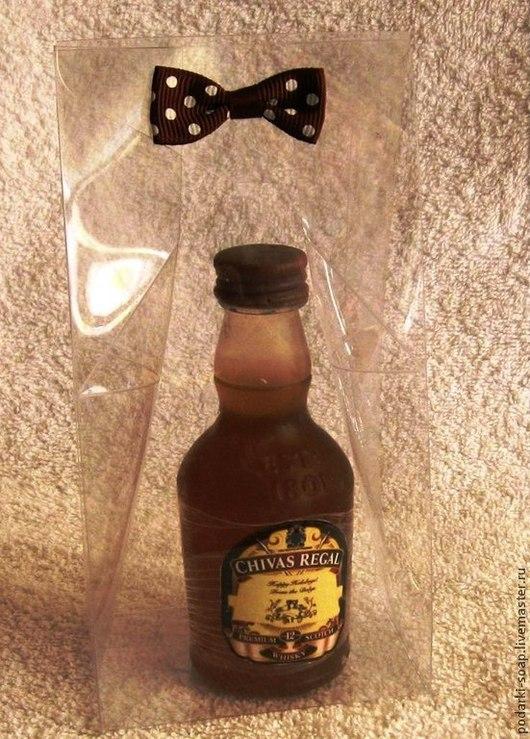 """Подарки для мужчин, ручной работы. Ярмарка Мастеров - ручная работа. Купить Мыло """"Виски CHIVAS REGEL"""". Handmade. Коричневый"""
