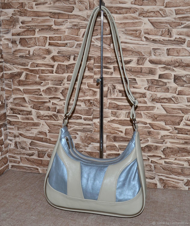 Model 510 long shoulder Bag genuine leather Bag, Classic Bag, Bogorodsk,  Фото №1