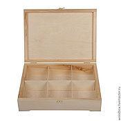 Материалы для творчества handmade. Livemaster - original item 34258 (6) storage Box 34 25 8 (6 cells). Handmade.