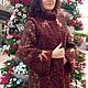 Верхняя одежда ручной работы. Ярмарка Мастеров - ручная работа. Купить Пальто Кленовый сироп. Handmade. Нунофелтинг, шерсть меринос