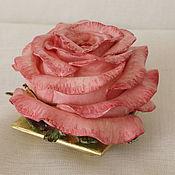 """Для дома и интерьера ручной работы. Ярмарка Мастеров - ручная работа Шкатулка """"Роза"""". Handmade."""
