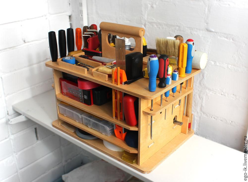 Как сделать ящик под инструменты.