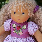 """Куклы и игрушки ручной работы. Ярмарка Мастеров - ручная работа вальдорфская кукла """"Розочка кудрявая"""" - 36см. Handmade."""