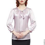 """Одежда ручной работы. Ярмарка Мастеров - ручная работа Блузка шелковая """"Кокетка"""". Handmade."""