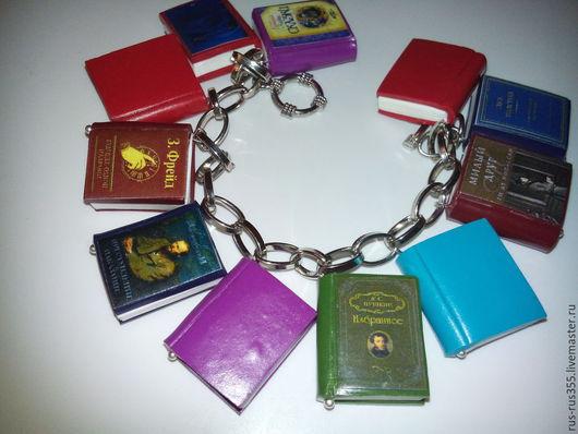 """Браслеты ручной работы. Ярмарка Мастеров - ручная работа. Купить ) браслет """"я люблю Книги! """". Handmade. Разноцветный"""