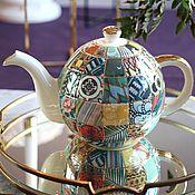 handmade. Livemaster - original item The tea pot porcelain