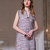 Одежда handmade. Livemaster - original item Chanel style dress in melange tweed. Handmade.