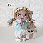 Stuffed Toys handmade. Livemaster - original item textile doll angel Asechka. Handmade.