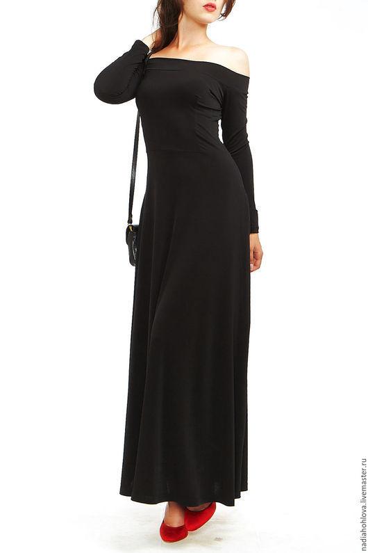 """Платья ручной работы. Ярмарка Мастеров - ручная работа. Купить Платье """"Укротительница"""". Handmade. Черный, длинное платье"""