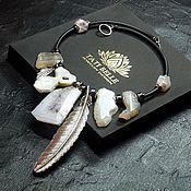 handmade. Livemaster - original item Necklace made of natural stones