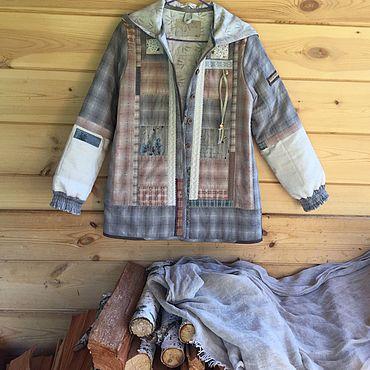 Одежда ручной работы. Ярмарка Мастеров - ручная работа Куртка из японского хлопка , бохо « Ностальгия». Handmade.