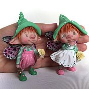 Куклы и игрушки ручной работы. Ярмарка Мастеров - ручная работа Томас и Маргарет. Handmade.