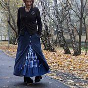 """Одежда ручной работы. Ярмарка Мастеров - ручная работа Теплая юбка из шерсти """"Сова"""". Handmade."""