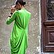 платье, дизайнерское платье, длинное летнее платье, платье в пол, летнее платье Ярмарка Мастеров