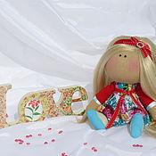 Куклы и игрушки ручной работы. Ярмарка Мастеров - ручная работа Текстильная кукла-interior doll Miss Molly. Handmade.