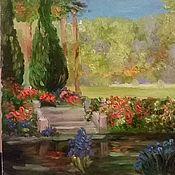 Картины и панно ручной работы. Ярмарка Мастеров - ручная работа Прекрасный сад 2. Handmade.