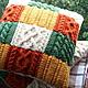 """Текстиль, ковры ручной работы. Ярмарка Мастеров - ручная работа. Купить Подушка """"Осенняя"""". Handmade. Подарок, классный подарок, яркая"""