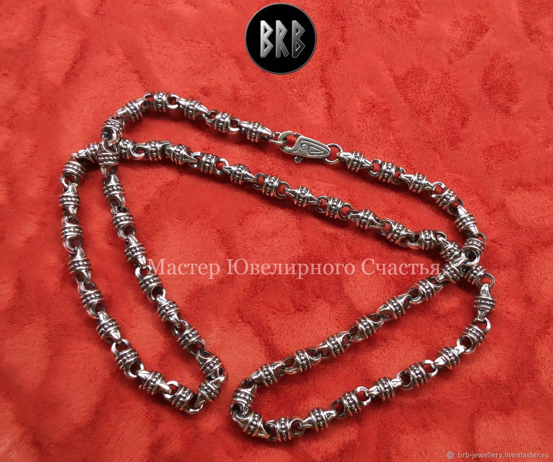 "Сhain ""Seya"" sterling silver 925, Folk decorations, Penza,  Фото №1"