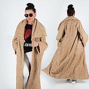 Одежда handmade. Livemaster - original item Long Sleeve Maxi Coat - VE0887PL. Handmade.